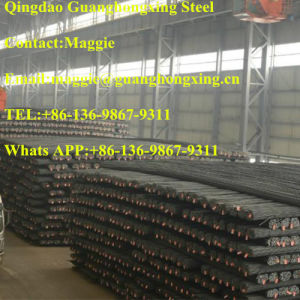 ASTM A615 Gr60/75, Hot Rolled, Deformed Steel Bar pictures & photos