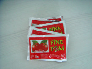 Fine Tom Brand Strong Sachet Tomato Paste From China pictures & photos