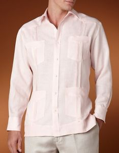 Demure and Comfortable Men′s Linen Shirt (SHM-02) pictures & photos