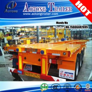 40 Tons Chassis Semi Trailer with Container Twist Locks pictures & photos
