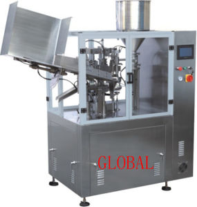 Aluminum Plastic Tube Filling Sealing Machine for Toothpaste Ointment Cream pictures & photos