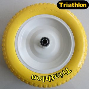 18 Inch 18X8.50-8 Ribbed Flat Free Polyurethane Foam Tires pictures & photos