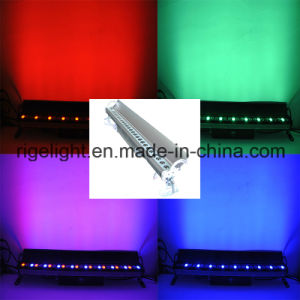 IP65 27X3w RGB Outdoor Stage LED Strip Bar Light LED Wall Washer Light pictures & photos