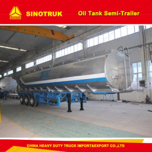 3 Axle 50m3 Fuel/Oil Tank Semi Trailer for Sale pictures & photos