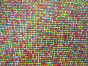 Resin Mixed Color Aluminum Mesh (050904)