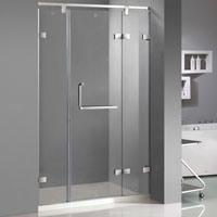 Stainless Frame Shower Cabin/ Shower Enclosures, L Shape Handle