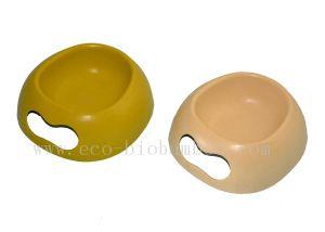 Bamboo Fiber Pet Supply Bowl (BC-PE6002) pictures & photos