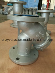 "3/4""Class150 A216 Wcb Y Strainer (GL41Y-DN20-150LB) pictures & photos"