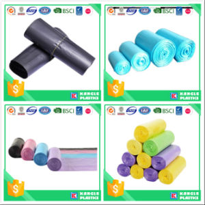 HDPE LDPE Large Trash Bags with Different Color pictures & photos