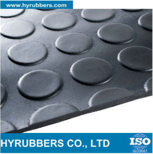 Anti Slip Fine Ribbed Sheet/ Corrugated Rubber Mat pictures & photos