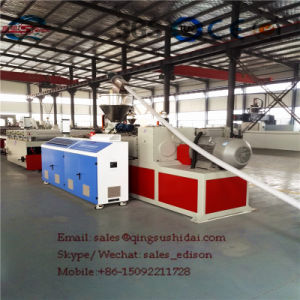 Extrusion Machine PVC Crust Foam Board Plastic Machine PVC Crust Foam Board Production Machine pictures & photos