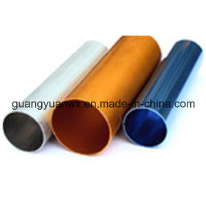 6063 T5 Anodized Aluminium Pipes/Profile (WXGY100) pictures & photos
