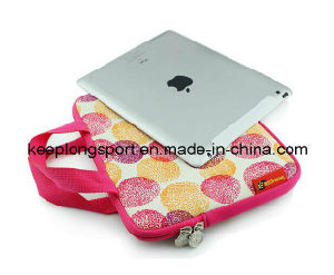 "15"" Sublimation Printing Neoprene Laptop Sleeve with Should Belt pictures & photos"