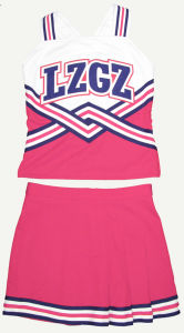 2016 Cheerleading Uniform: Shell Top and Skirt pictures & photos