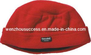 Polar Fleece Beanie Hat (SH12-1F007) pictures & photos