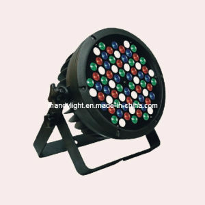 Cast Aluminum LED PAR Light/72PCS*1W/3W RGBW LED Waterproof PAR Light/72PCS*3W LED PAR Light