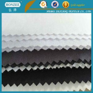 T/C Collar Interlining Good Fusible Woven fabric pictures & photos