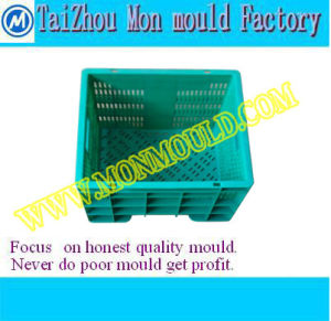 Injection Mould for Peach/Orange/Bread/Fruit Circulation Case pictures & photos
