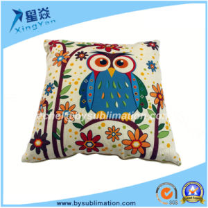 Sublimation Cotton Linen Pillow Case pictures & photos