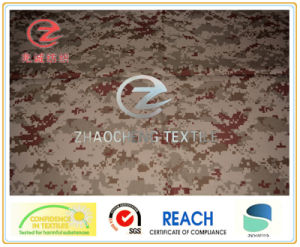 300d Poly Oxford Digital Camouflage Printing Fabric (ZCBP056)