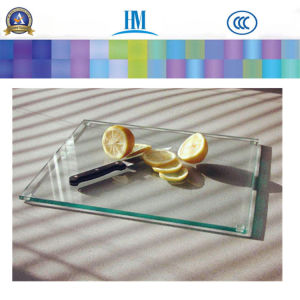 Glass Cutting Board Tempered Toughened Art Decorative Glass pictures & photos