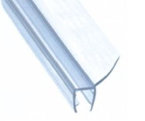 Bathroom Door PVC Seal Strip for 8mm Glasses (HS12011)