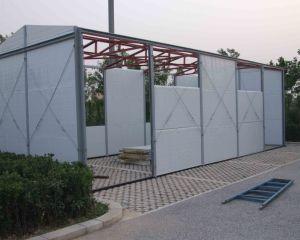 Sandwich Panel House Prefab House on Camp Site