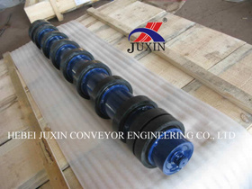 JIS DIN Standard Belt Conveyor Impact Roller Idler pictures & photos