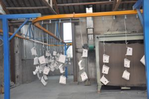 Steel Box Powder Coating Plant pictures & photos
