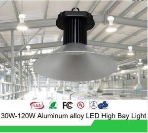 Outdoor Waterproof Lighting 3D Heat Dissipation Build in Driver RoHS LED Industrial 100W Industrial LED High Bay Light