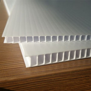 4mm Opal White PP Coroplast Sheet, Corrugated Sheet for Printing pictures & photos