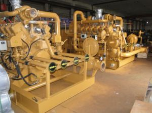 500kw Semi-Coke Gas Generaor Used in Steel Plant pictures & photos
