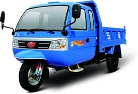 Three Wheel Vehicle Motor Tricycle with Cab pictures & photos