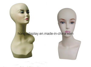 Ladies Head Mannequins for Shopfront Display pictures & photos