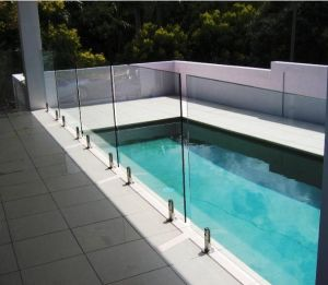 Australia Certificate Toughened Glass for Swimming Pool Fence pictures & photos