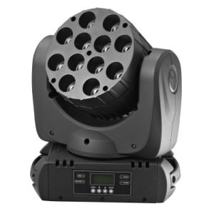 LED Moving Head Beam Lights 12*12W RGBW 4in1 CREE LED