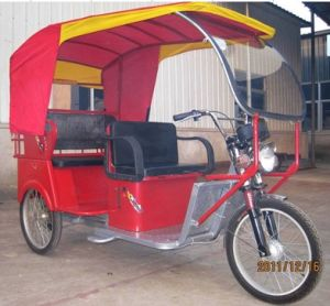 South East Asia Passenger Taxi Rickshaw Tricycle 500W-800W (HD500W-5A) pictures & photos