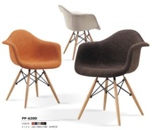 2014 Newly Design Modern Leisure Chairs with Wood Leg (PP620D) pictures & photos
