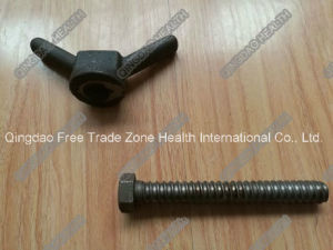 M12 Heavy Cast Wing Nut with Hex Head Bolt pictures & photos