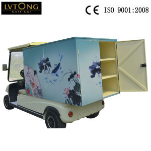 4 Wheels Electric Mini Cart for Hotel pictures & photos