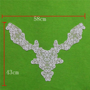 Crochet Water White Garment Accessories Collar (cn129) pictures & photos