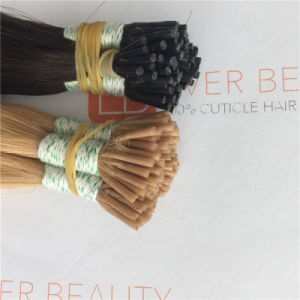 Pre Bonded I Tip Human Hair 100% Virgin Human Hair with Good Quality pictures & photos