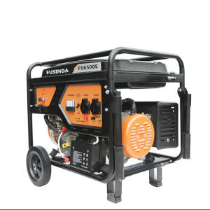 5kw/6kw CE Electric/Recoil Start Gasoline Generator (FS6500) for Home Use pictures & photos