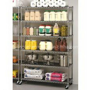 Wire Shelving/ Storage Display Rack (ZS-186)