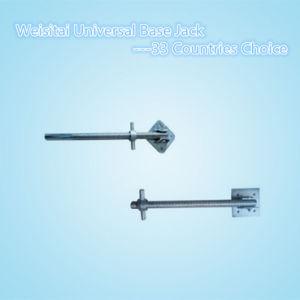 Galvanized Formwork and Scaffold Universal Base Jack/Adjustable Base Jack