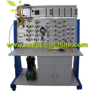 PLC Electro Pneumatic Trainer Teaching Equipment Educational Training Equipment