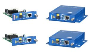 Managed Fiber Media Converter with Fast Ethernet Onaccess 201r pictures & photos