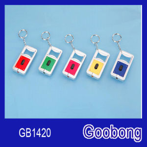 Rectangle LED Keychain with Bottle Opener pictures & photos
