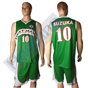 Healong Heat Transferred Champion Basketball Jerseys pictures & photos