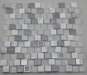 White Aluminum Mosaic/ Glass Mosaic/ Marble Mosaic (HGM392) pictures & photos